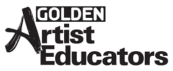 Golden Artist Educator logo