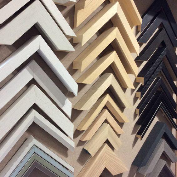 samples  of frame mouldings