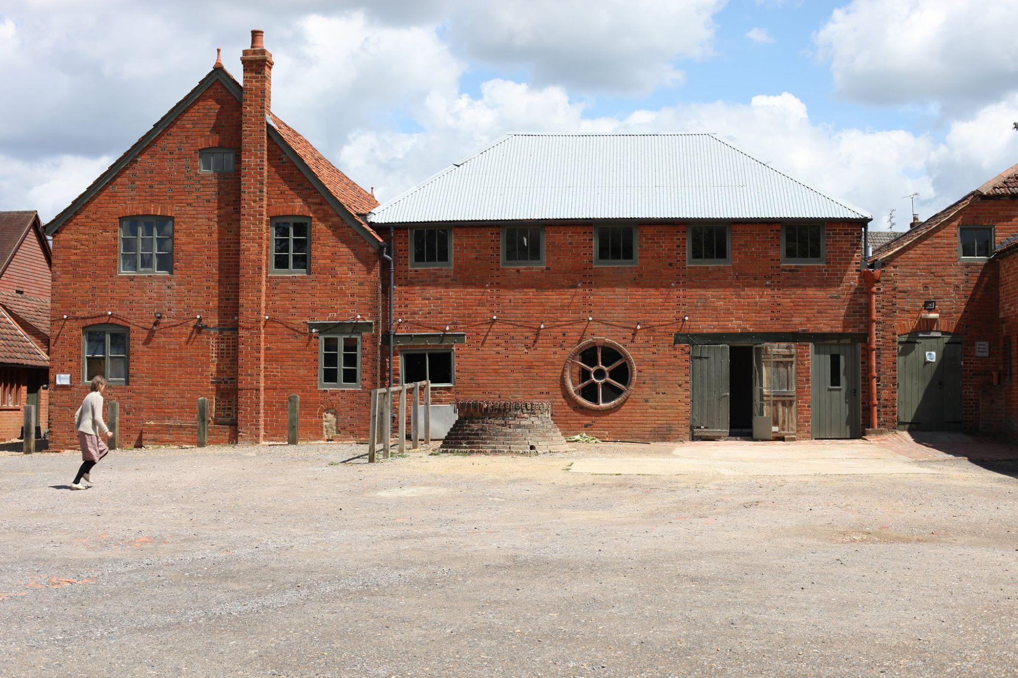 Historic Farnham Pottery building