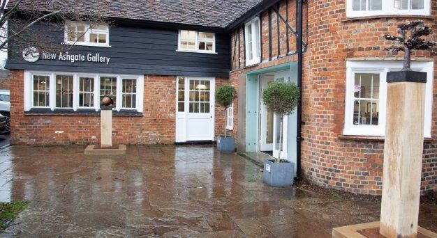 Exterior view of New ashgate gallery in farnham