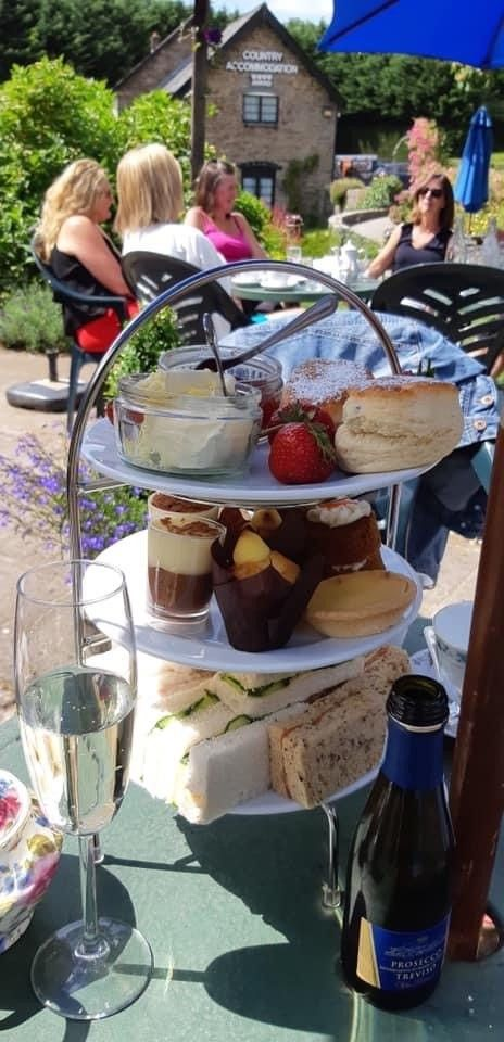 Afternoon tea at The Greyhound
