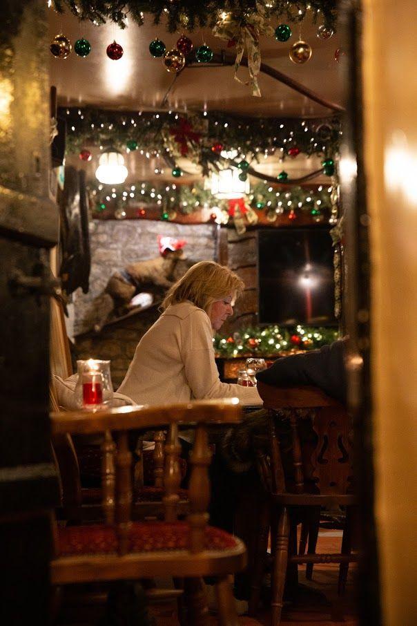 Xmas Victorian cosy bar