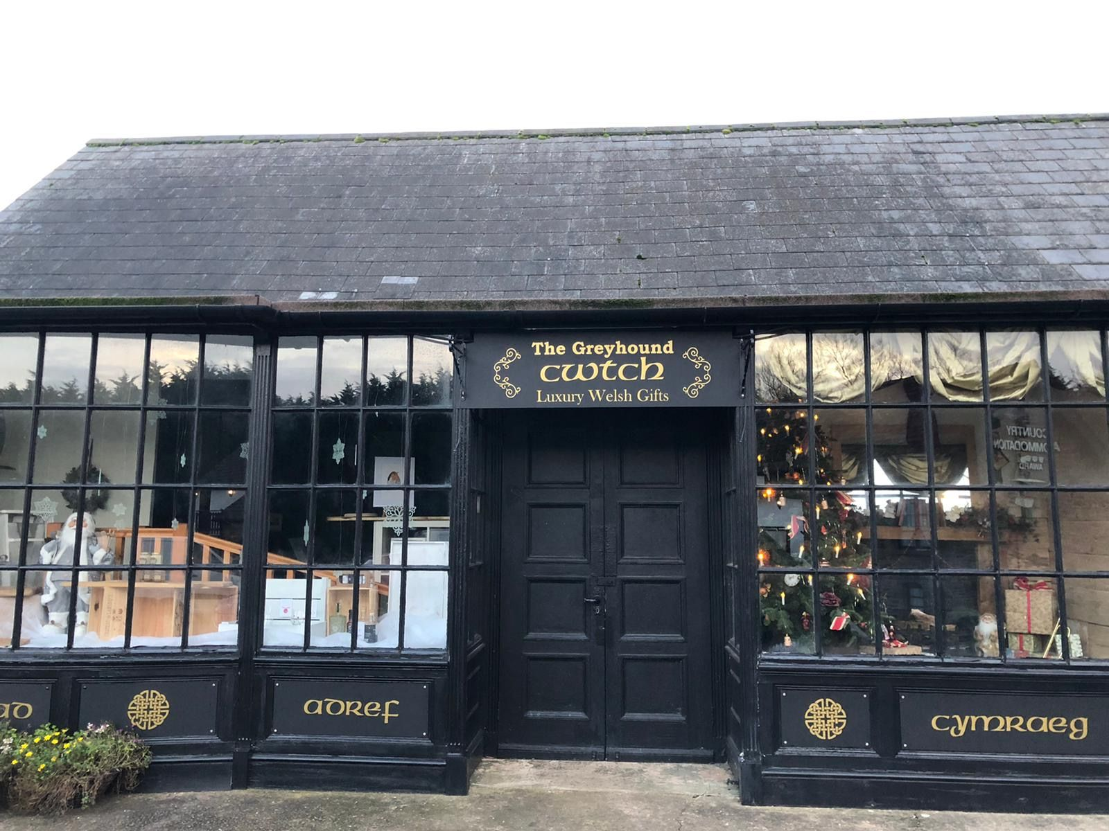 The Cwtch luxury Welsh gift shop front