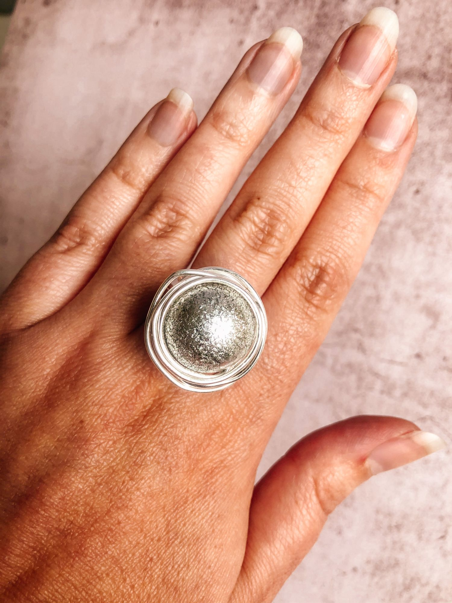 Big Silver Ninho Statement Ring