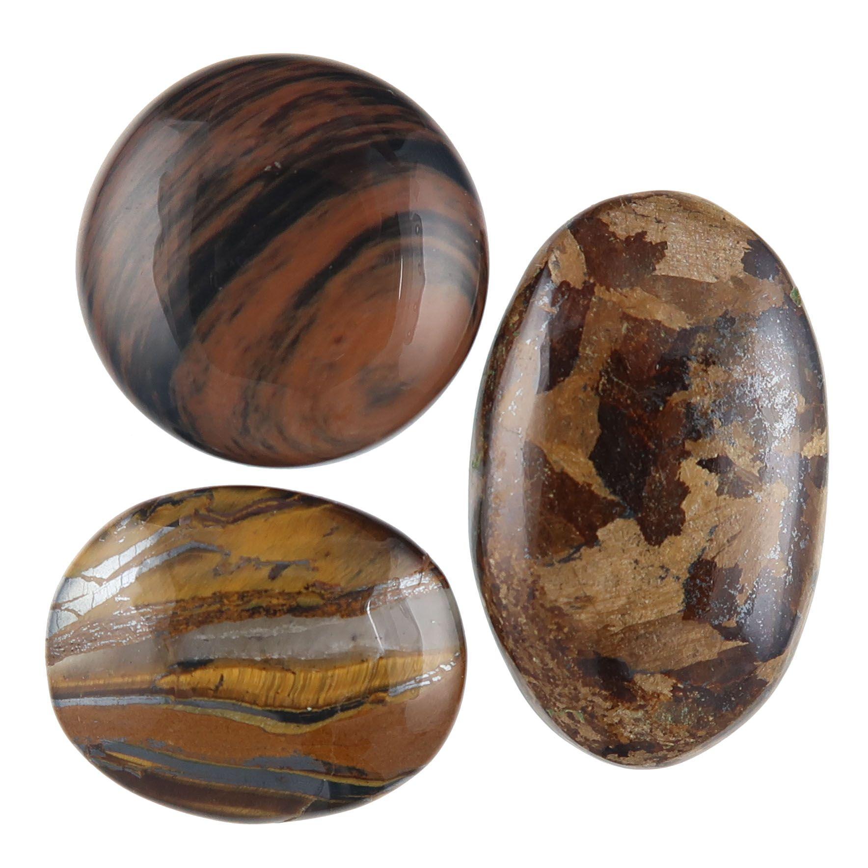 neutral and brown gemstones