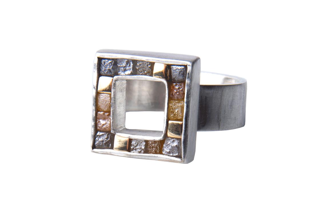 rough diamond jewellery; silver jewellery