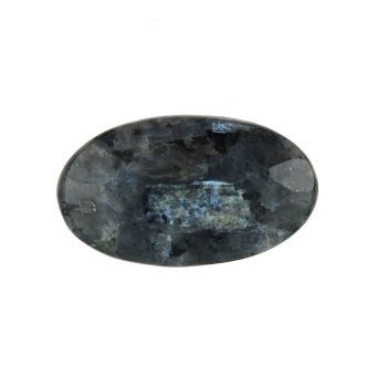 Larvikite facet-topped cabochon