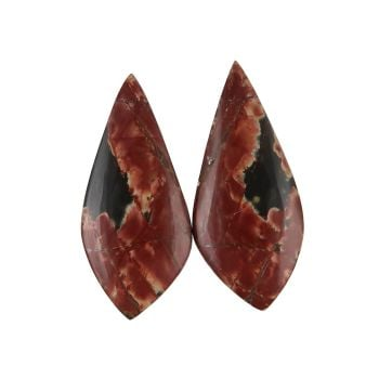 Cherry creek jasper cabochons - pair