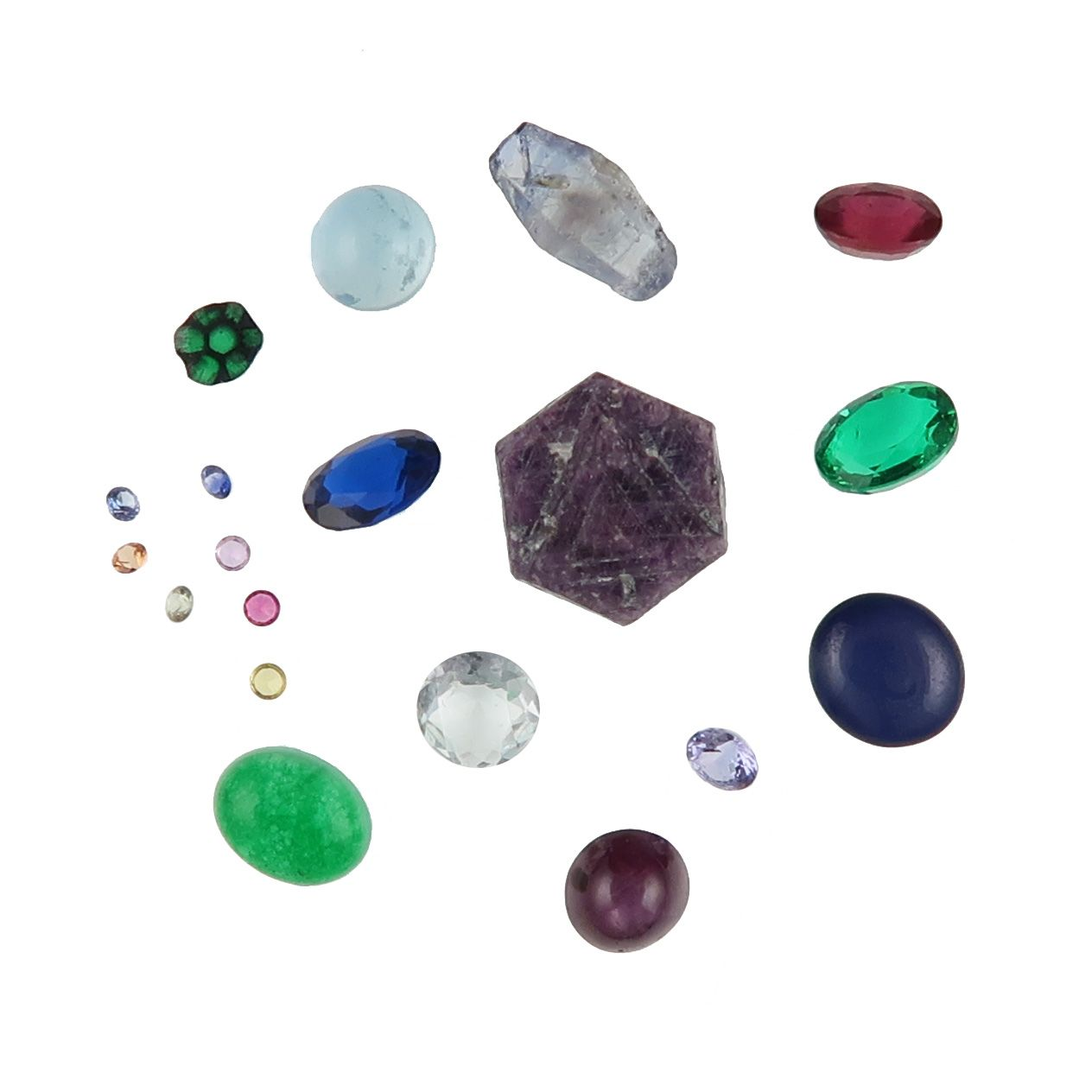 beryl and corundum