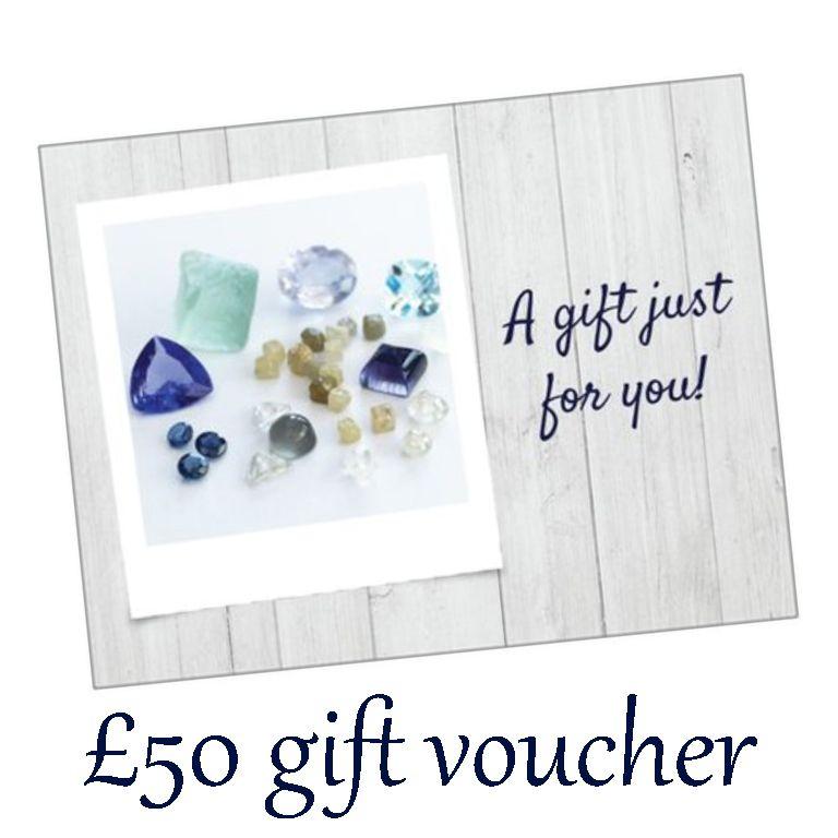 £50 gift voucher + postage