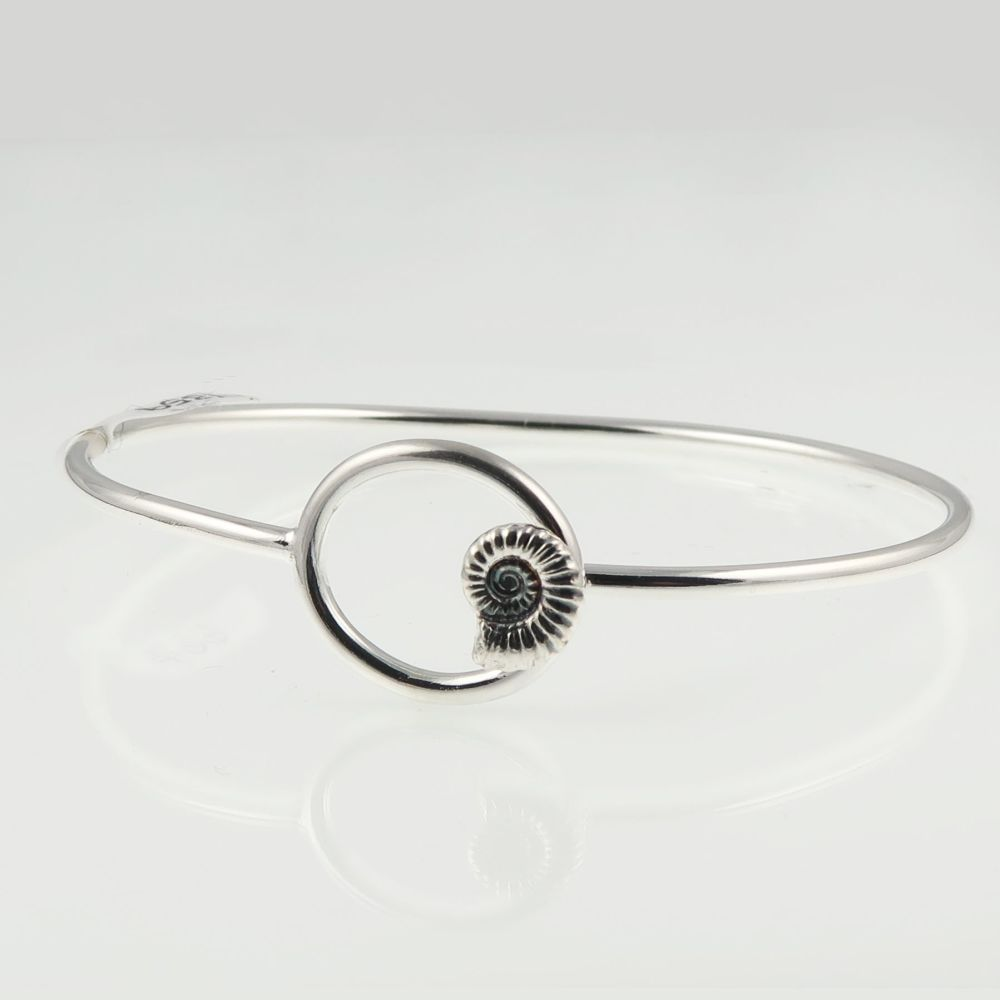 Ammonite bangle