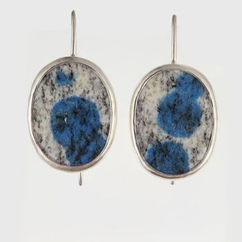 K2 granite earrings