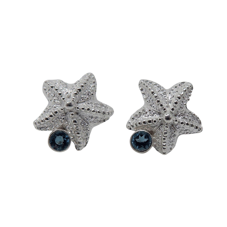rockpool jewellery; silver jewellery; starfish jewellery