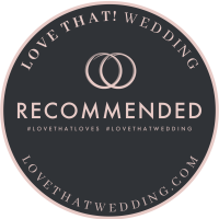 proudly recommended by Love That Wedding!