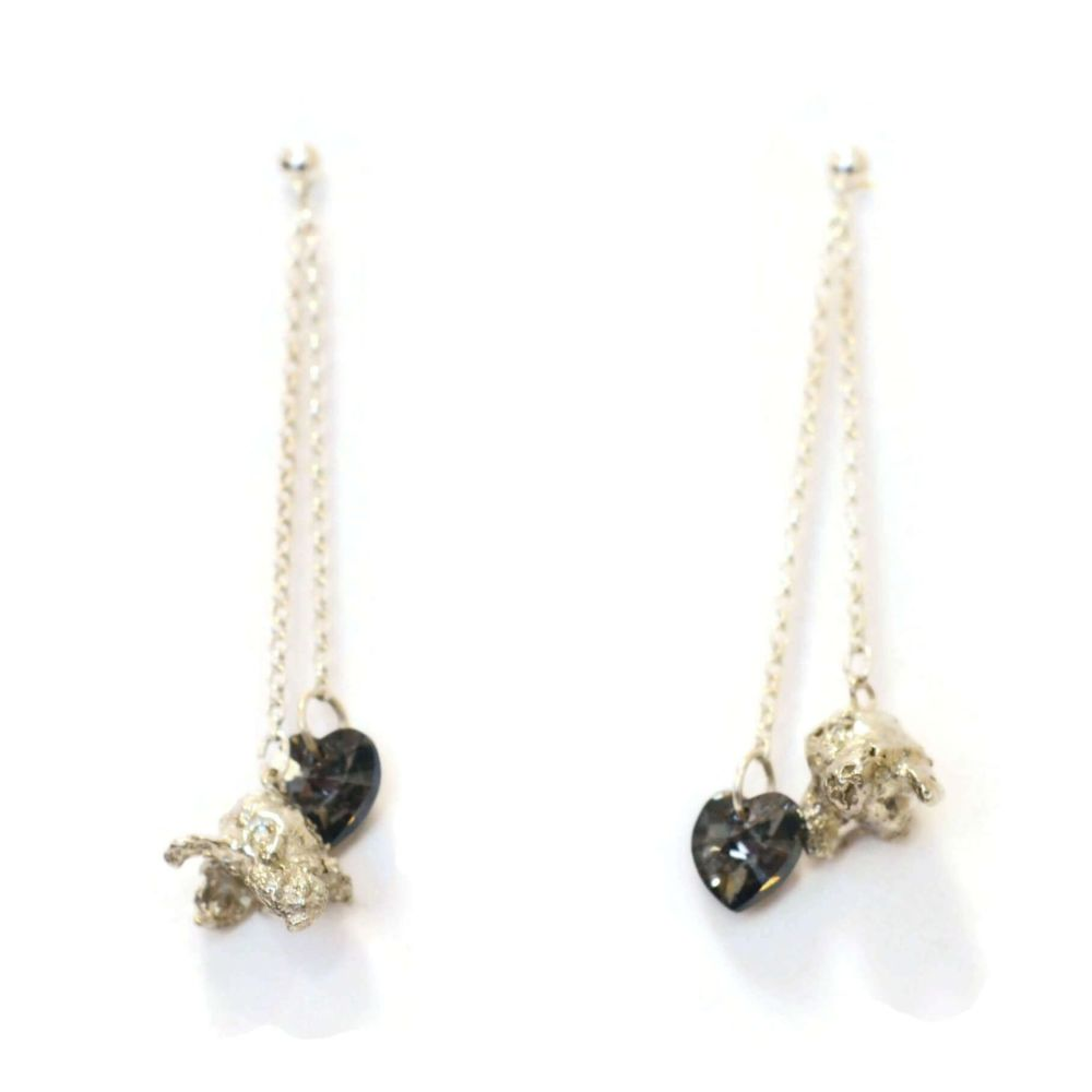 Perfectly Popped Double Dangling Earrings