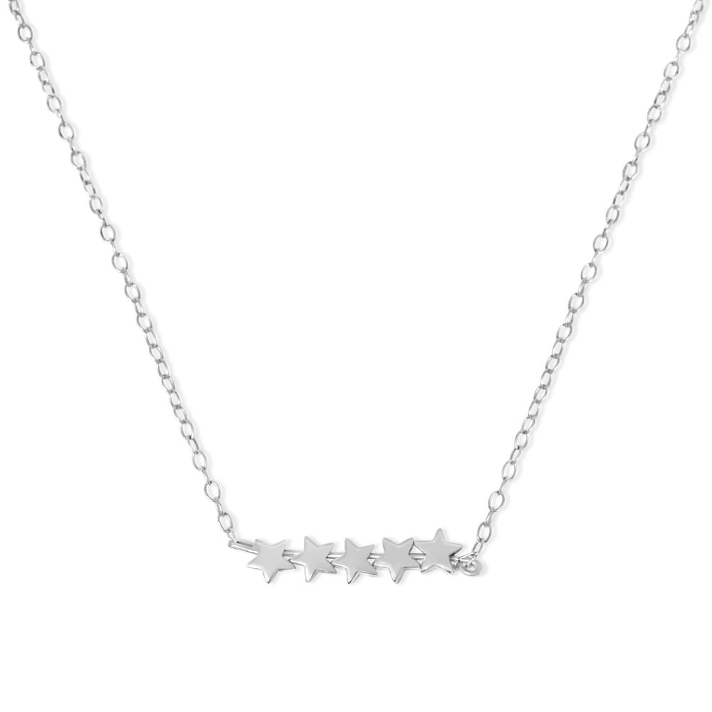 Five Star Bar Necklace