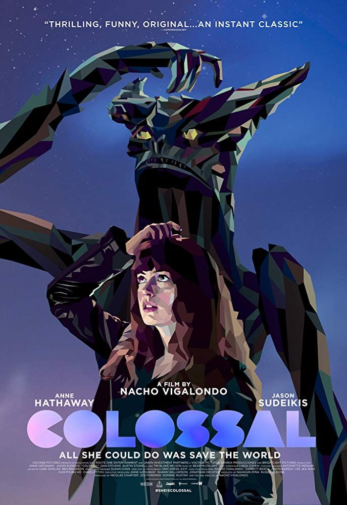 Cinebling Movie Review Colossal