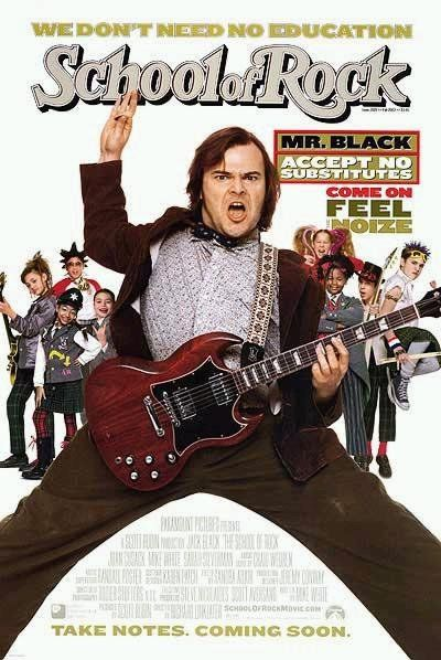 Cinebling Movie Review School of Rock