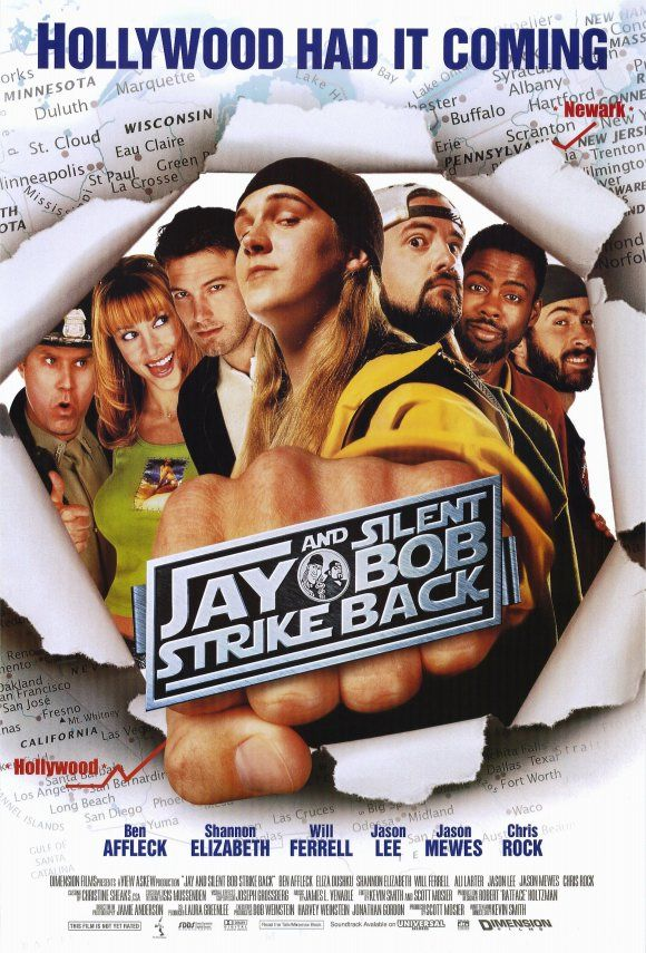 Cinebling Movie Review Jay and Silent Bob Strike Back
