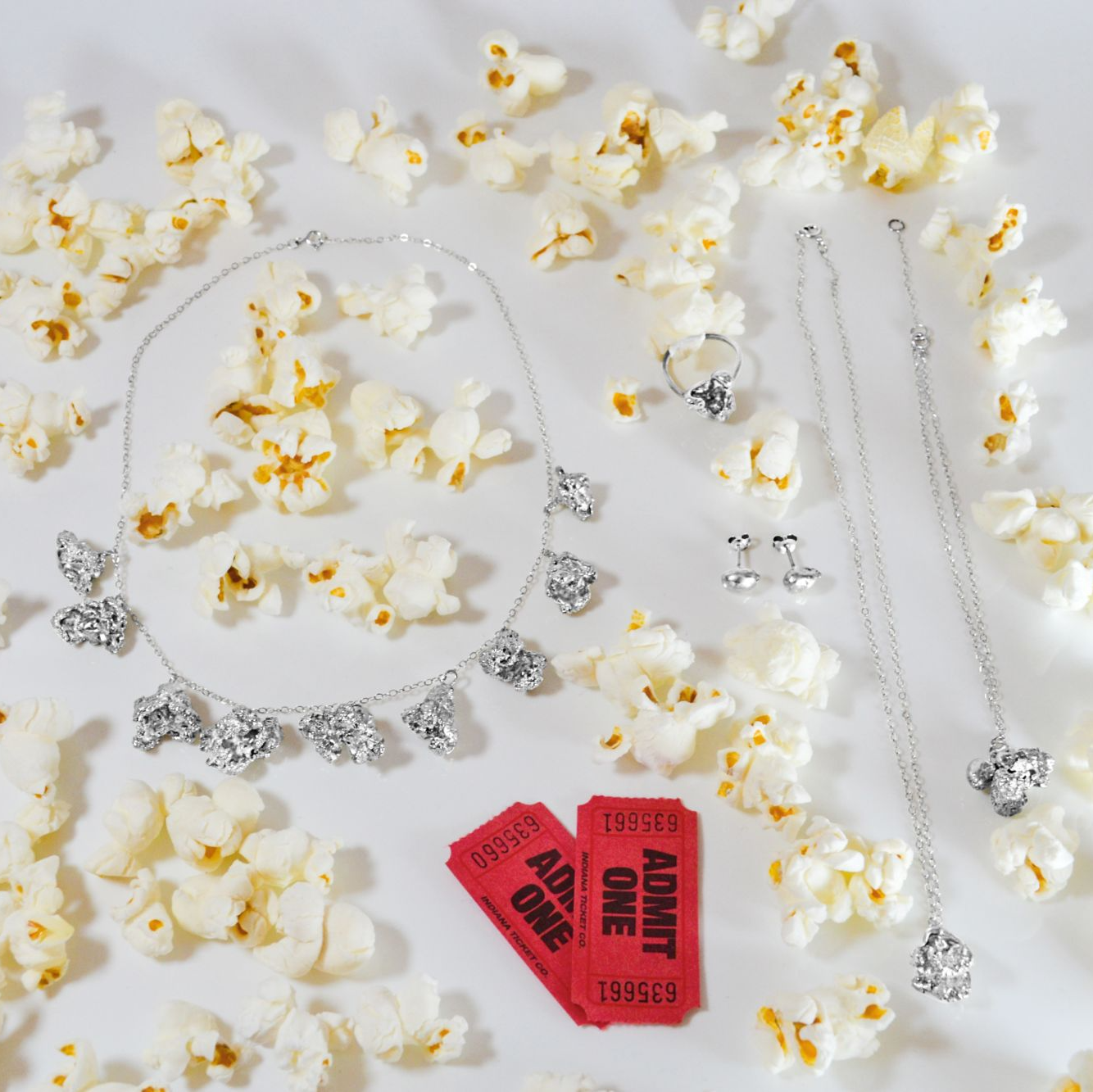 Cinebling Perfectly Popped Collection Flatlay