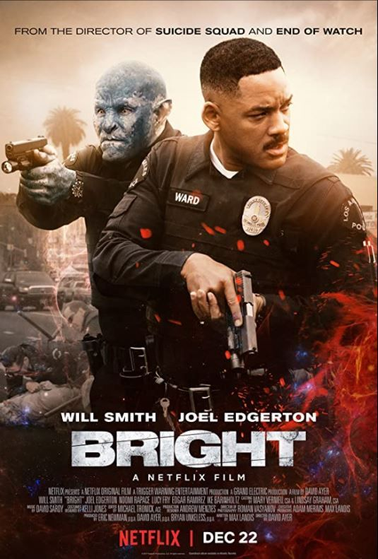 Cinebling Movie Review Bright