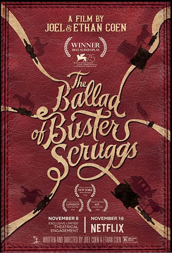 Cinebling Movie Review The Ballard of Buster Scruggs