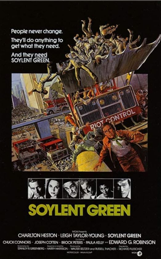 Cinebling Movie Review Soylent Green