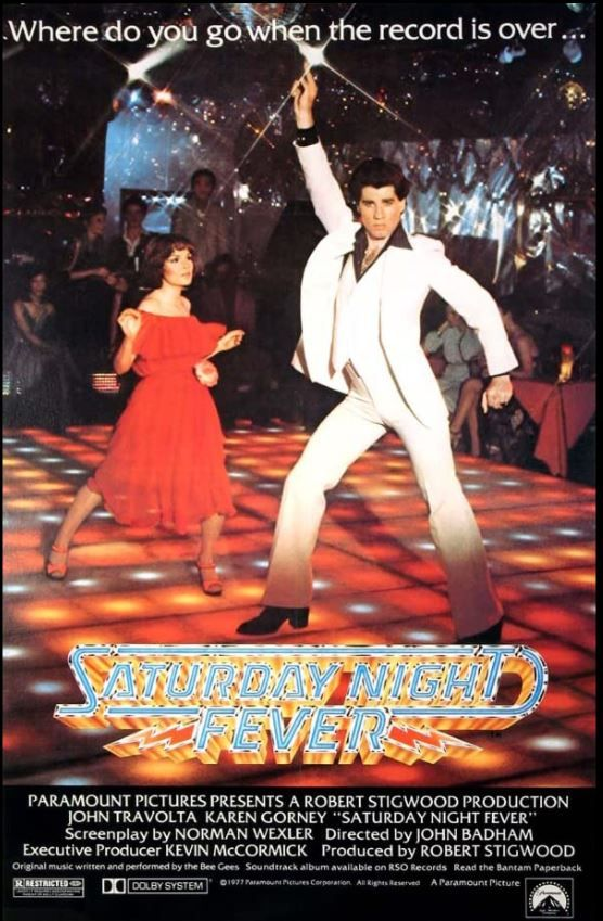 Cinebling Movie Review Saturday Night Fever