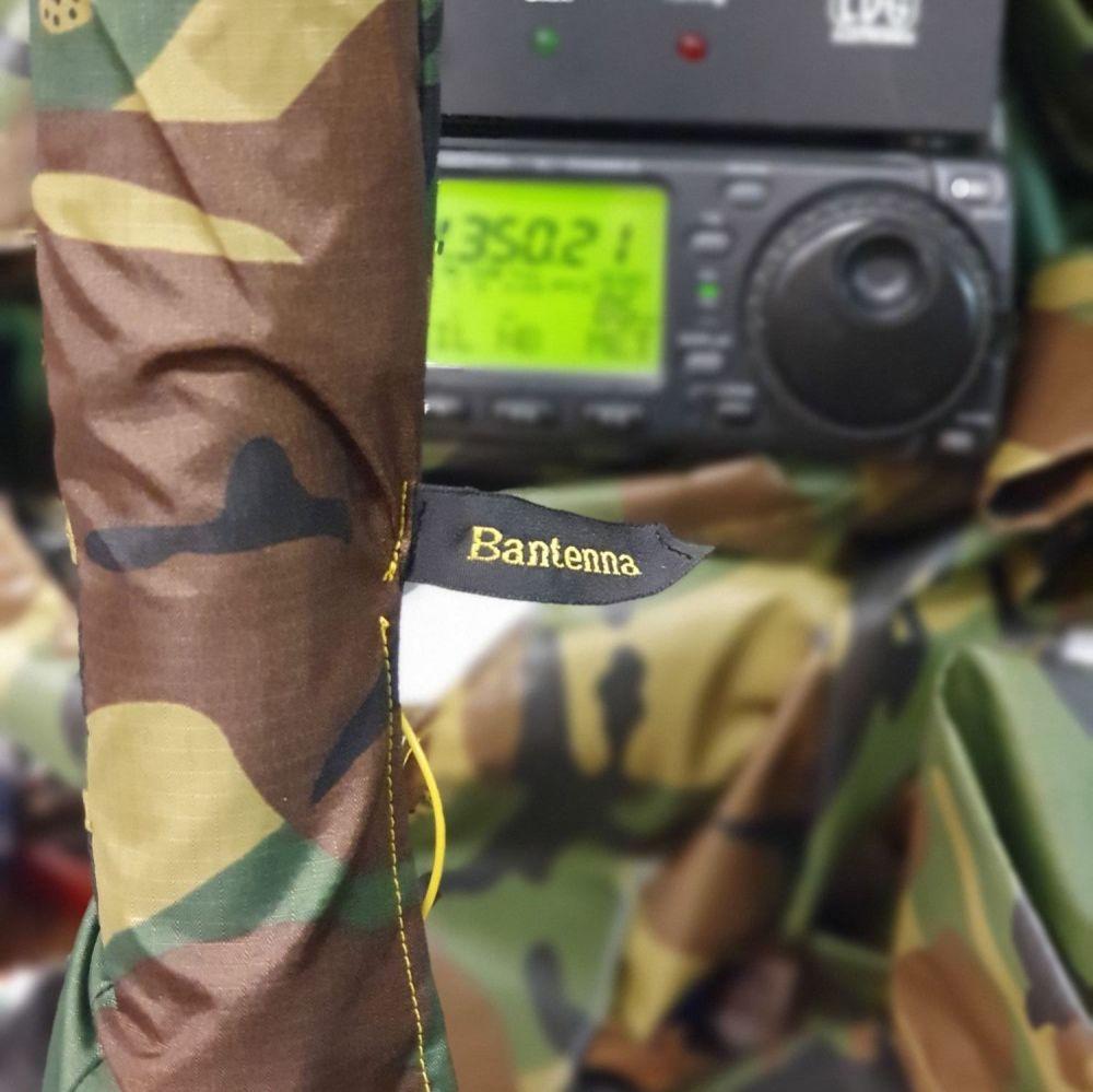 Sleeve antenna and unun, no mast. DPM CAMO