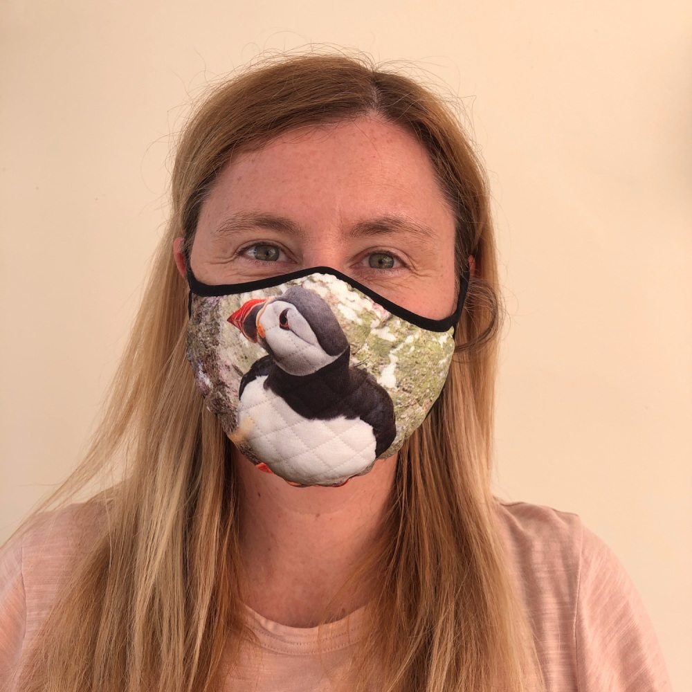 Face Mask - Atlantic Puffin