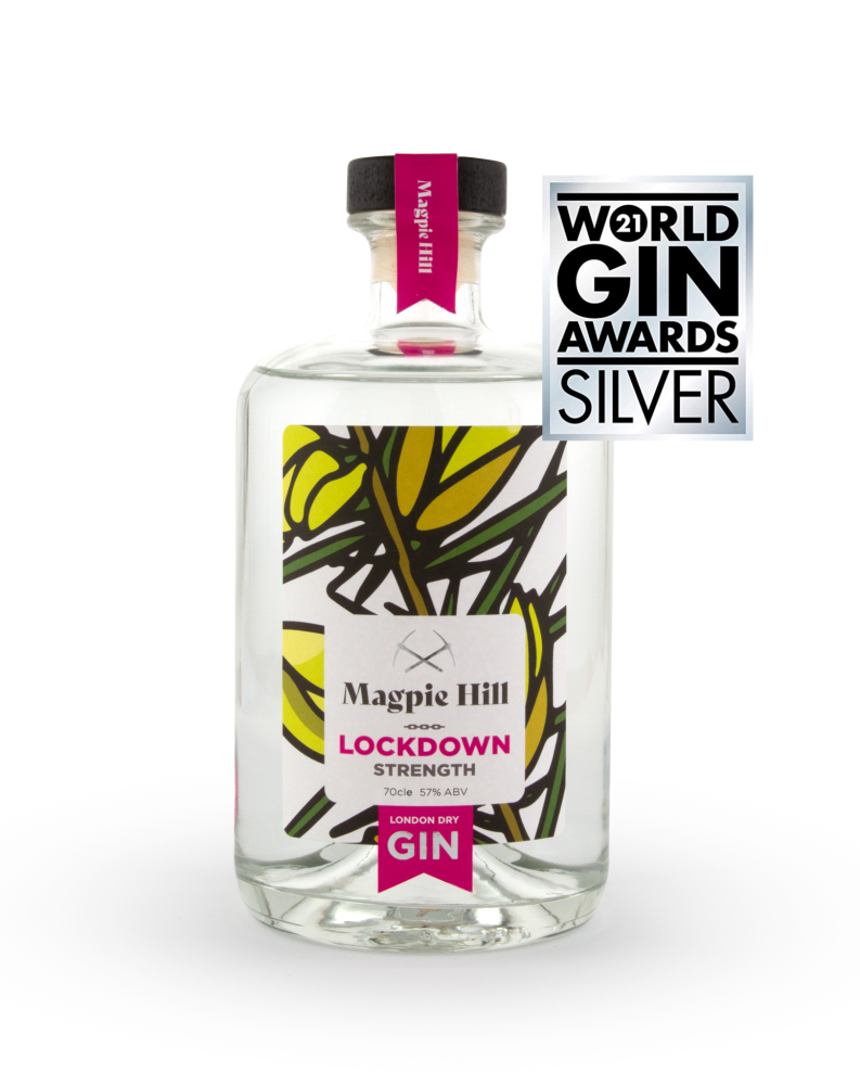 Magpie Hill LOCKDOWN strength London Dry Gin (Limited Edition)