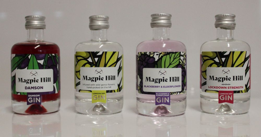 <!--003-->Magpie Hill Miniature Gins