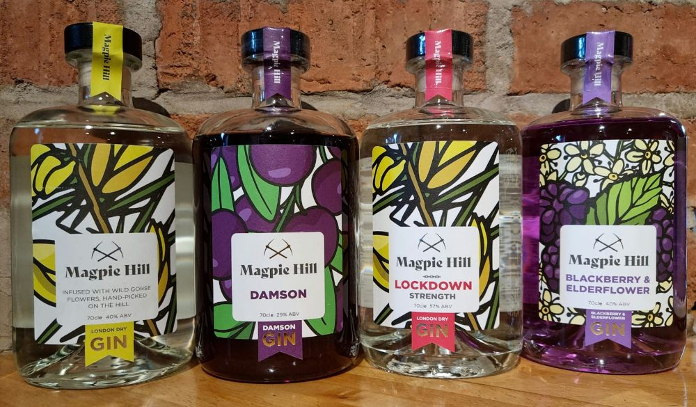 <!--001-->Magpie Hill Gins 70cl