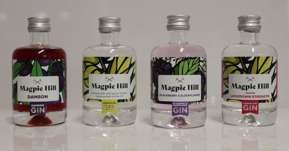 All 4 Magpie Hill Miniatures