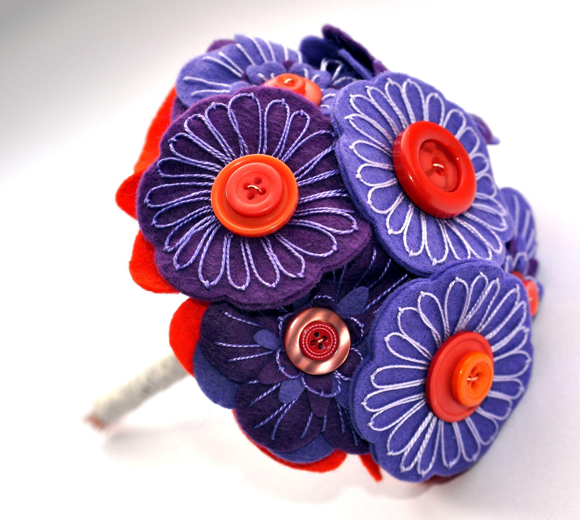 Purple and orange bouquet.JPG