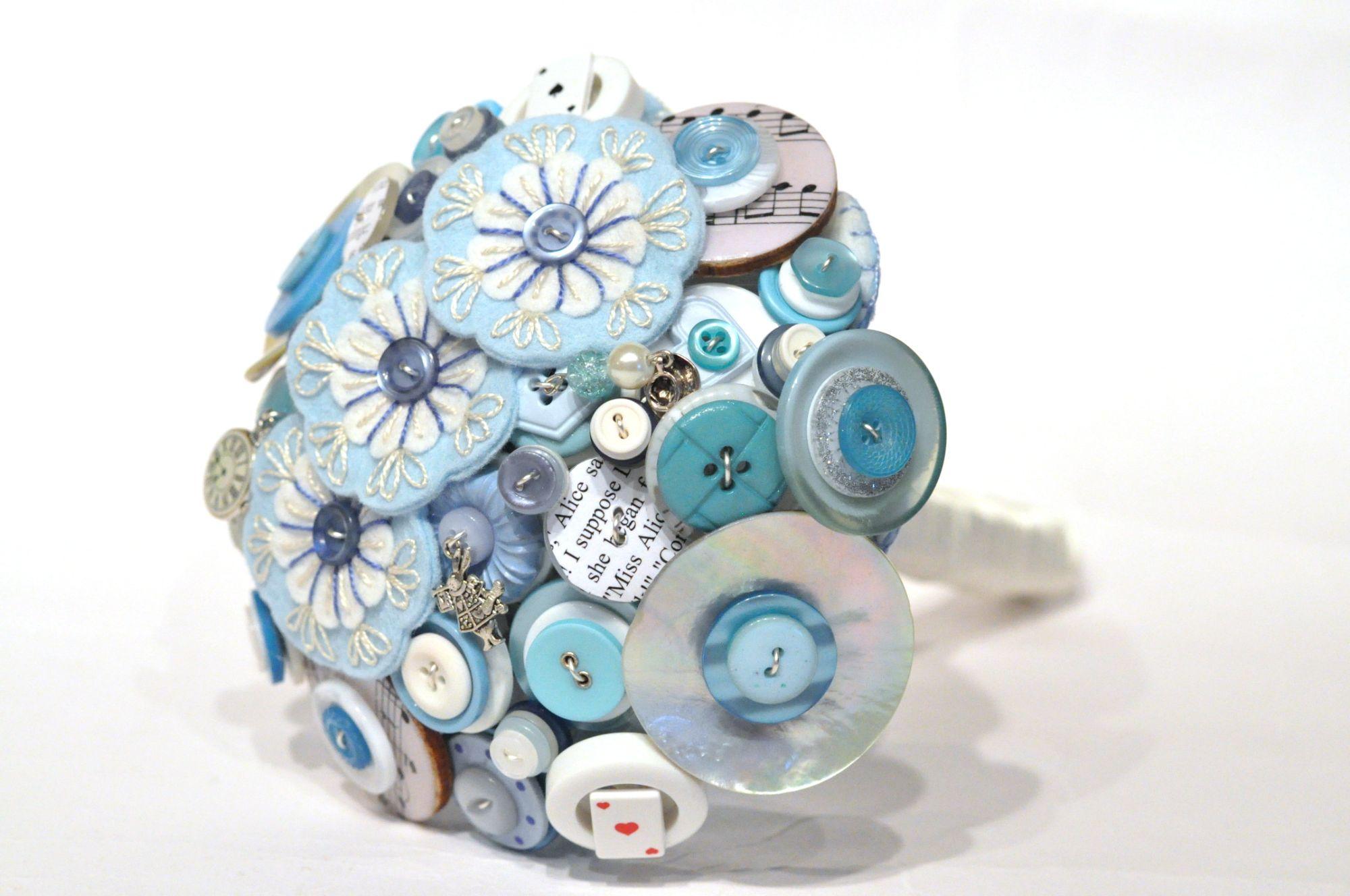 Alice in wonderland button bouquet (1).JPG