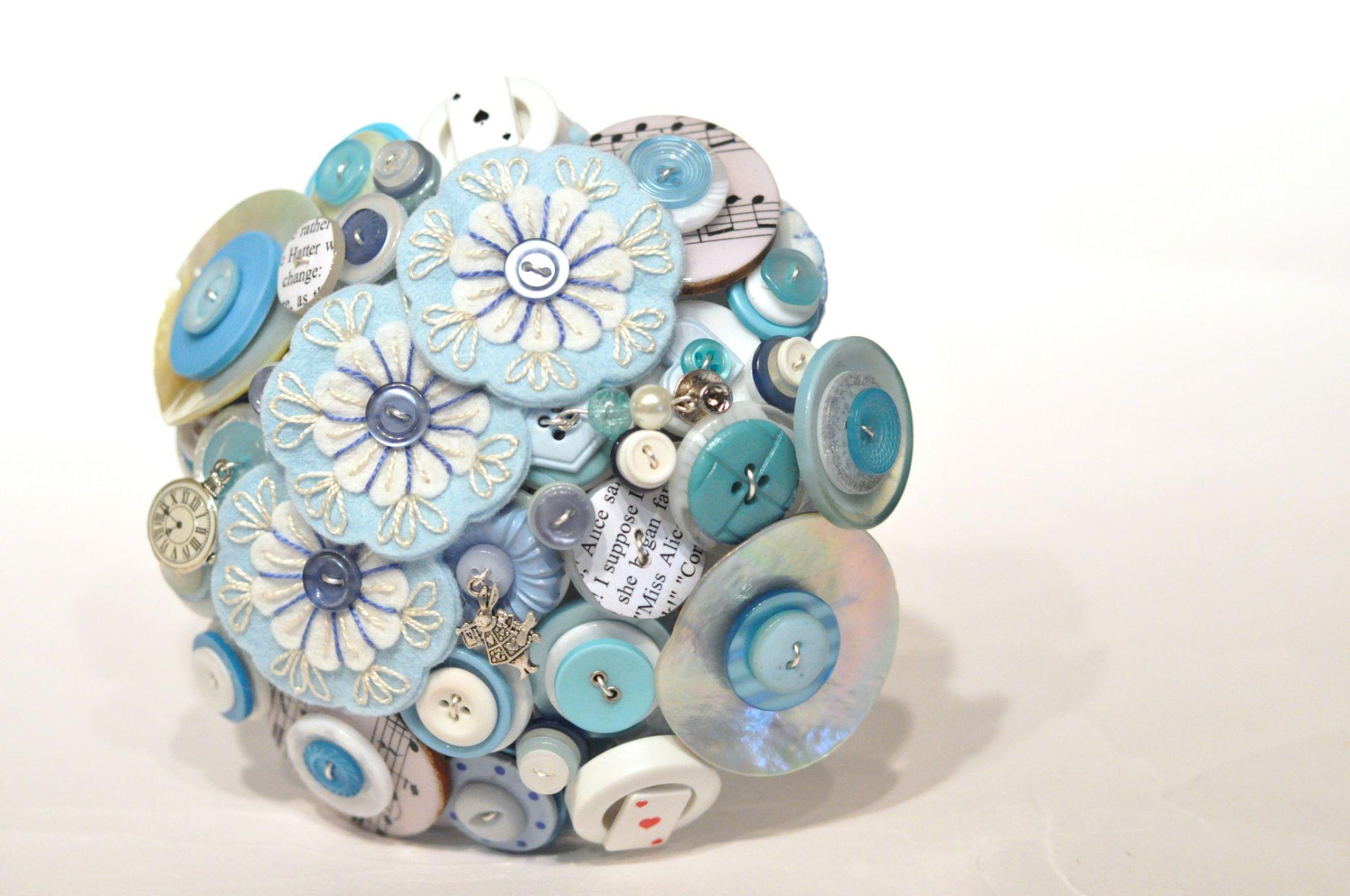 Alice in wonderland button bouquet (2).JPG