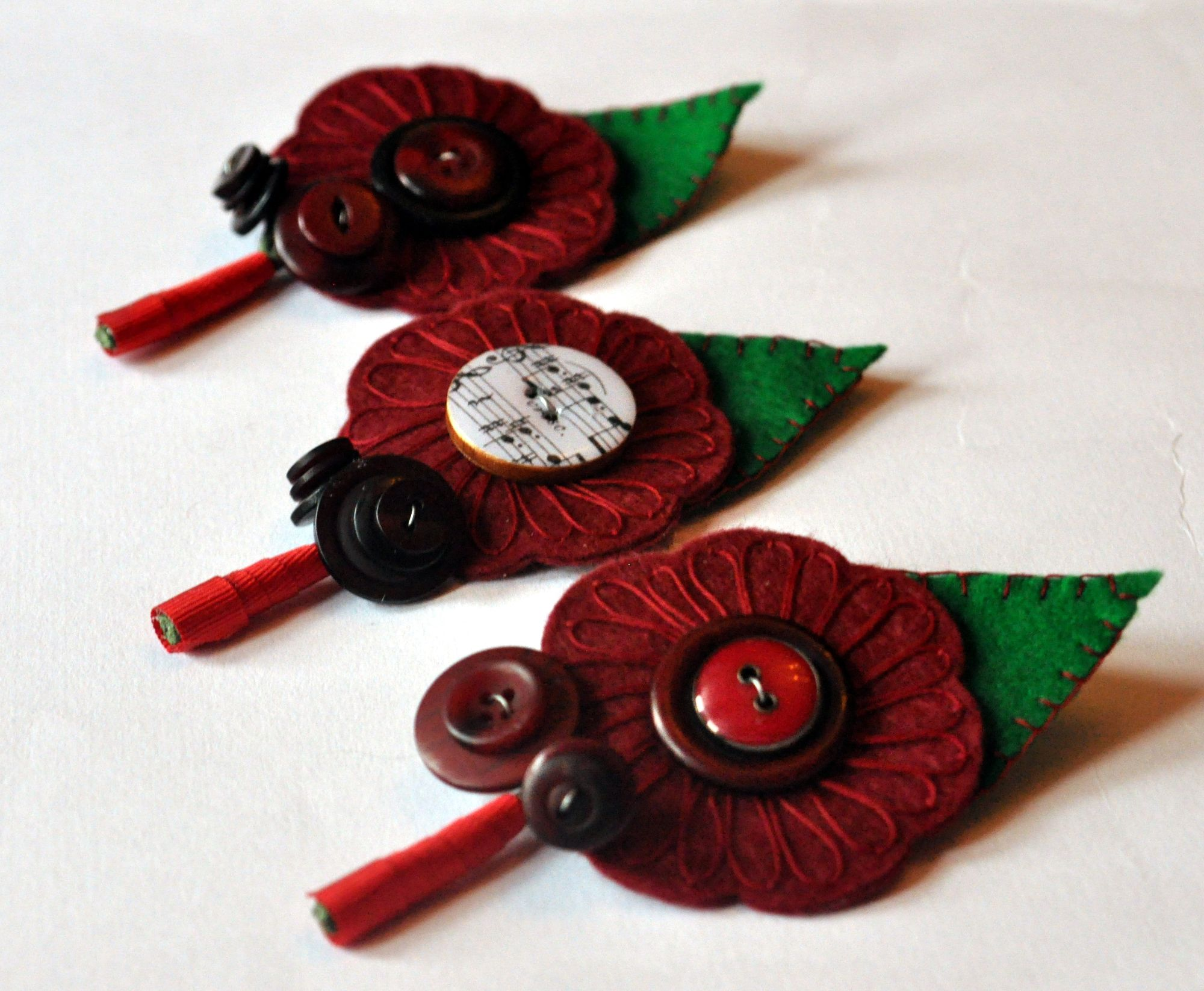 Alternative wedding buttonholes