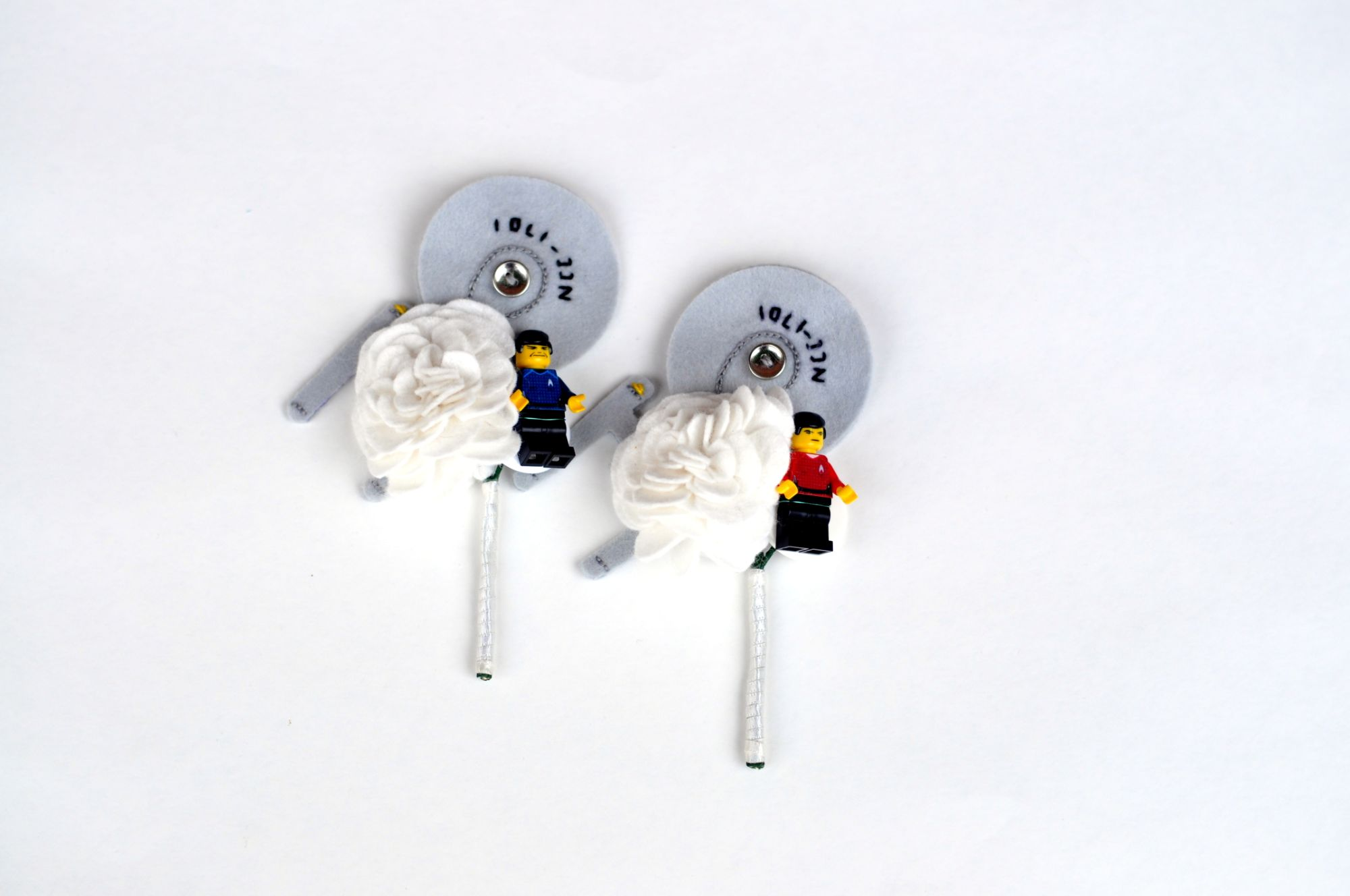 star trek buttonholes