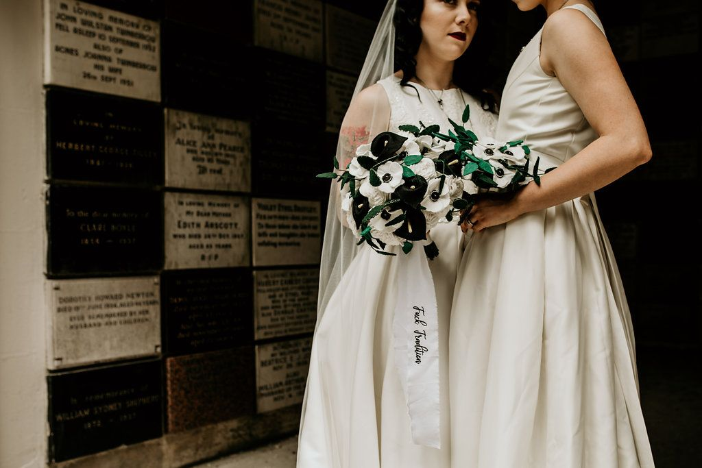 alternative wedding day  inspiration