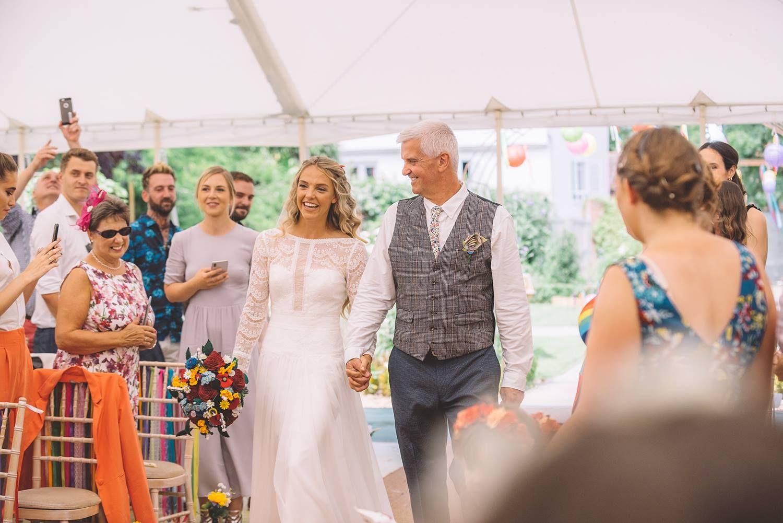 felt wedding buttonholes