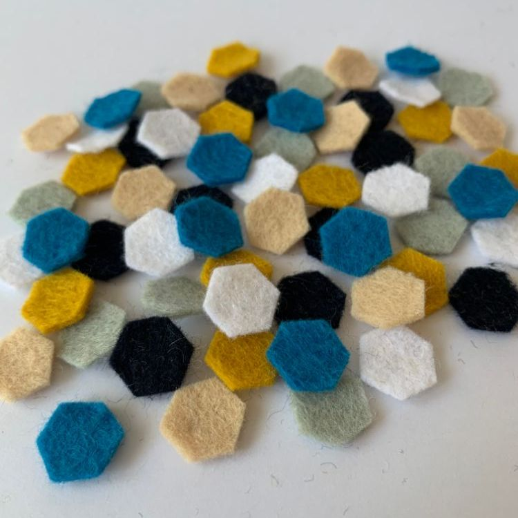 Wool Felt Shapes