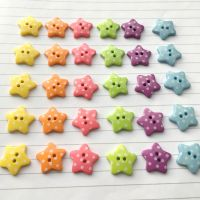 Spotty Star Buttons 18mm