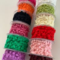 5mm Tiny Pom Pom Trim - 12 colours - Sold per metre