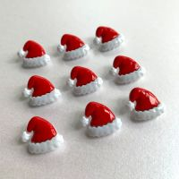 Novelty Christmas Santa Hat Shank Buttons