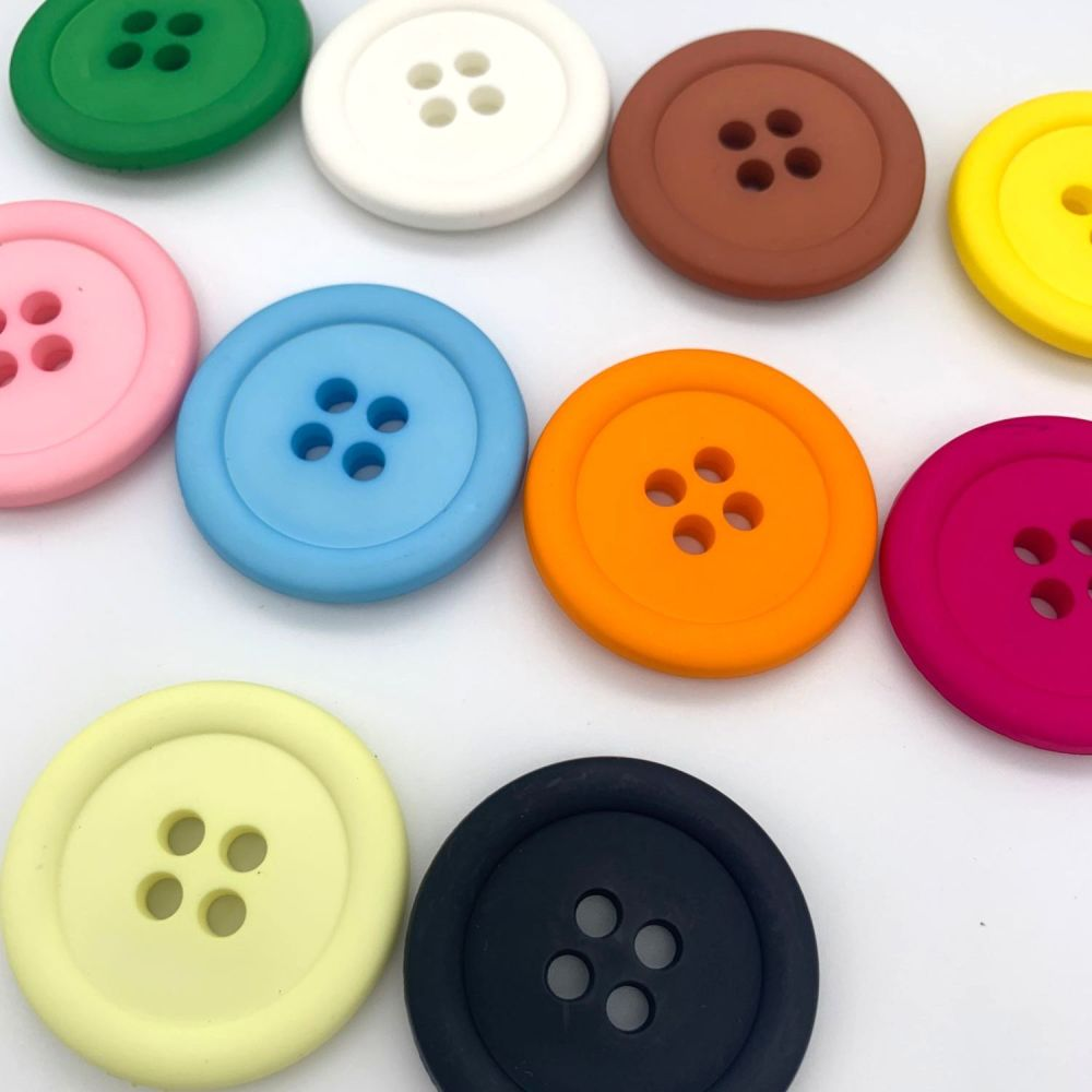 38mm Matte Clown Buttons