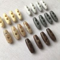 Horn Toggle Buttons - 5 colours