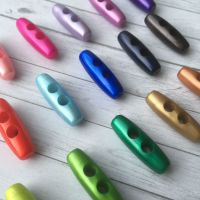 Pearlescent Coloured Toggle / Duffle / Coat Buttons