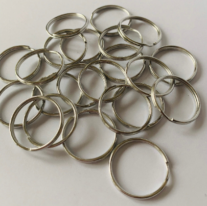 Metal Split Rings / Key Rings - 3 Sizes