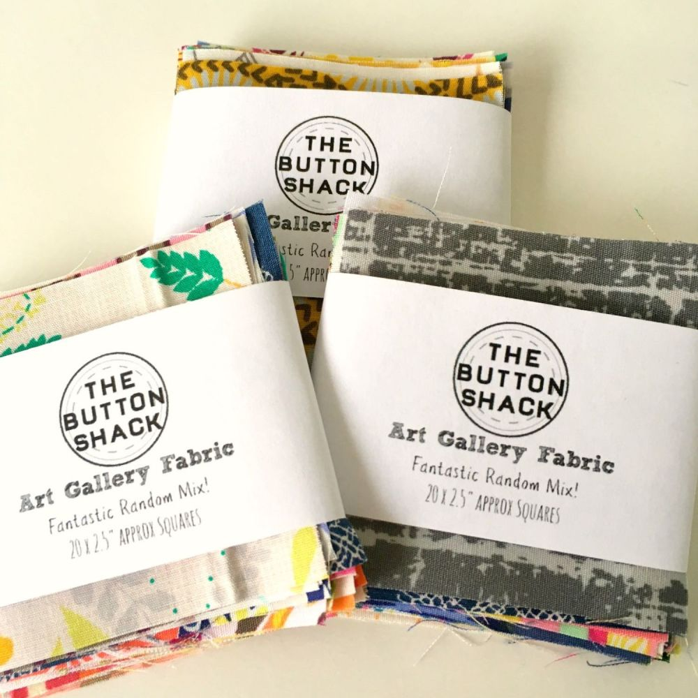 "Art Gallery Fabric Charm Pack 2.5"" x 20"